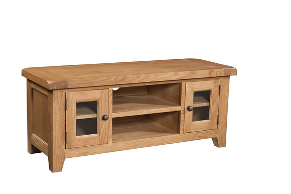 Oak 3 - Large Tv Unit