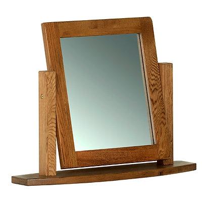Oak 2 - Single Dressing Table Mirror