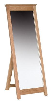 Oak 1 - Cheval Mirror