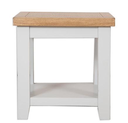Grey & Oak - Lamp Table