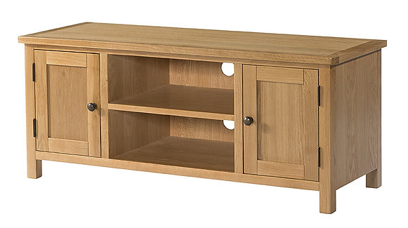 Oak 9 - Large Tv Unit