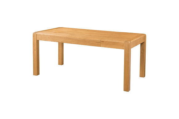 Oak 6 - 140cm End Extension Dining Table - SPECIAL