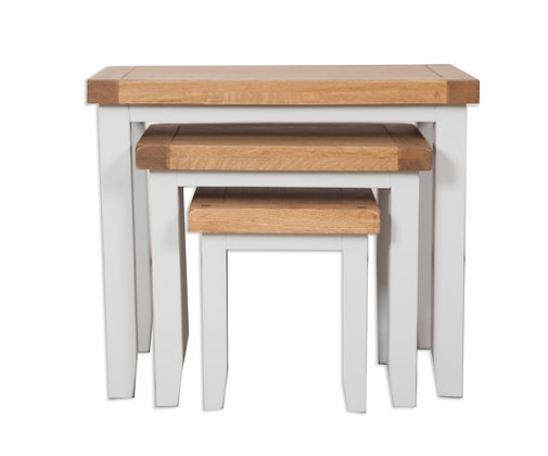 Grey & Oak - Nest Of Tables