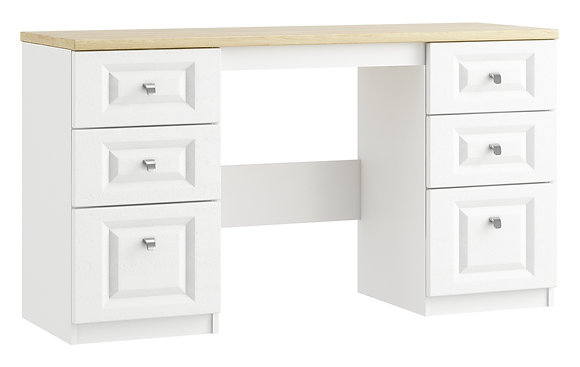 Sorrento - Double Pedestal Dressing Table