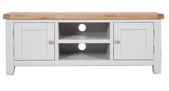 Grey & Oak - Plasma Tv Cabinet