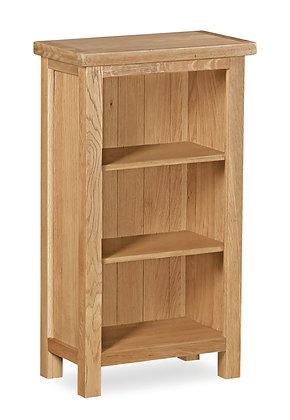 Oak 27L - Low Narrow Bookcase
