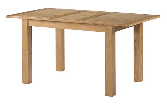 Oak 9 - Ext Dining Table 1200-1550 X 800 X 760