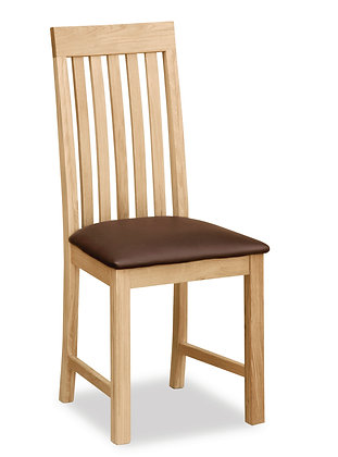 Oak 87 - Dining Chair With Pu Seat