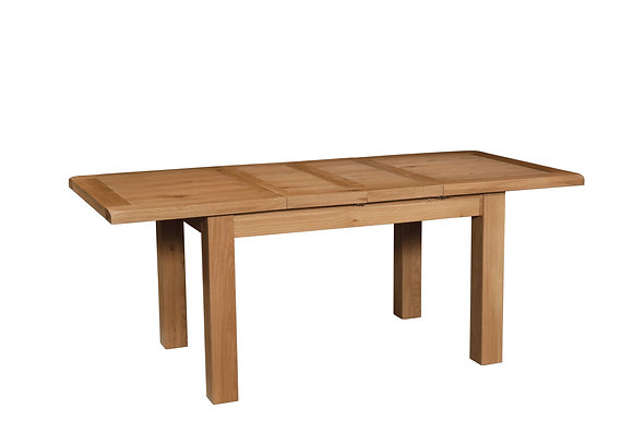 Oak 3 - Dining Table With 2 Extensions 180-250 X 90