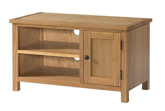 Oak 9 - Small Tv Unit