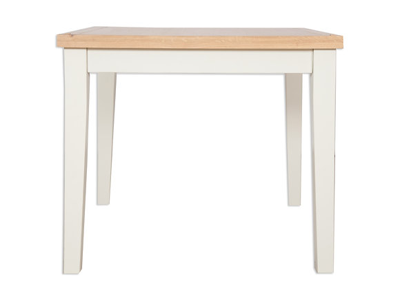 Ivory & Oak - 90 X 90 Dining Table