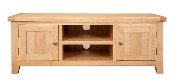 Natural Oak - Plasma Tv Cabinet