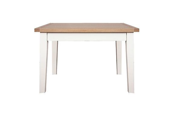 Arctic White & Oak - 90 X 90 Dining Table