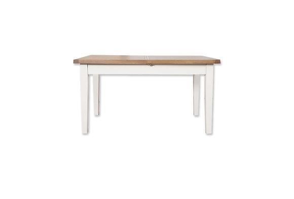 Arctic White & Oak - 1.2M Extending Dining Table