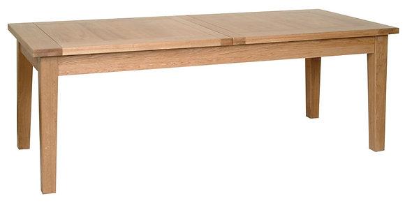 "Oak 1 - 6'8"" Extendable Table (2 Leaf)"