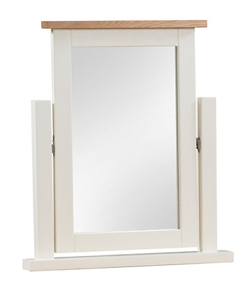 Oak 4 Ivory - Dressing Table Mirror