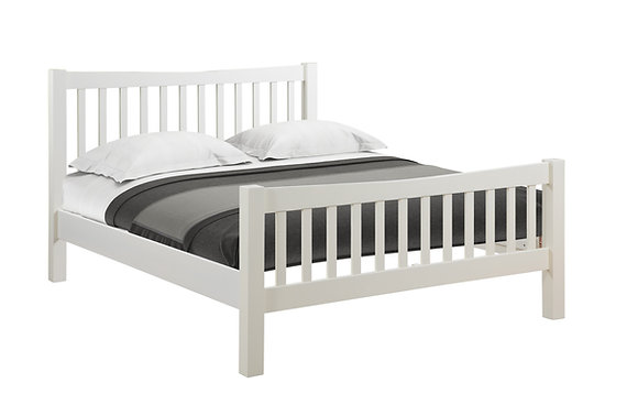 Oak 4 Ivory - 5' H.E Bed