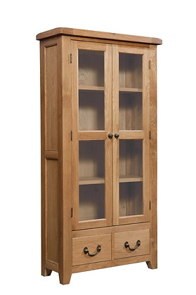 Oak 3 - Display Cabinet