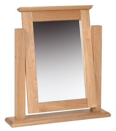 Oak 1 - Single Dressing Table Mirror