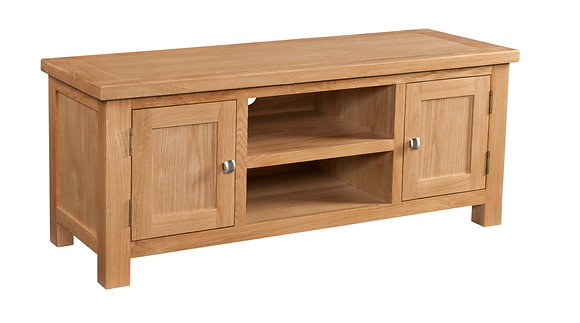 Oak 4 - Large Tv Unit