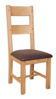 Natural Oak - Ladder Dining Chair