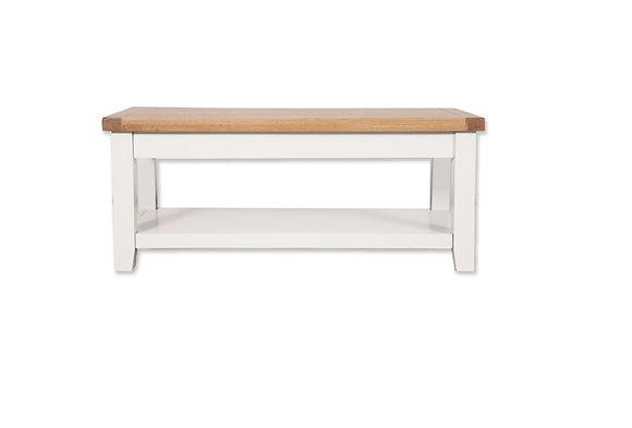 Arctic White & Oak - Coffee Table