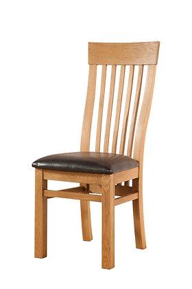 Oak 3 - Curved Back Chair