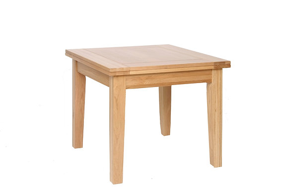 Oak 1 - 3' X 3' Flip Top Extendable Table - SPECIAL