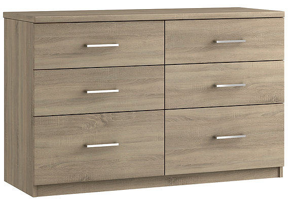 Modena - 6 Drawer Twin Chest