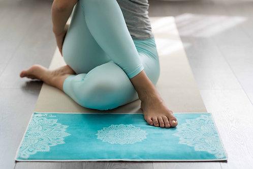 Yoga Hand Towel - Mandala Turqouise