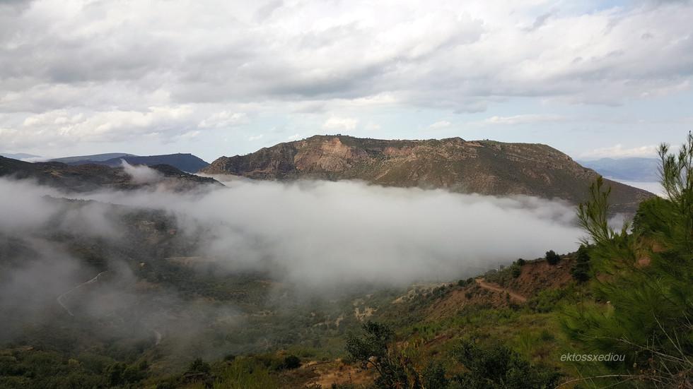 Πάνω απ' τα σύννεφα