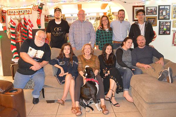 2018 Bowley family Christmas