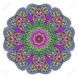 63271064-résumé-mandala-couleur-motif-or