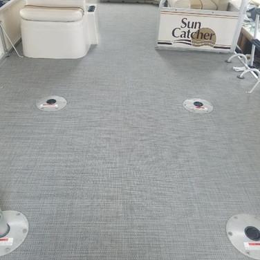 Pontoon Carpet after