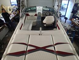 Full boat upholstery
