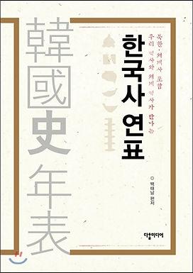 한국사 연표 : 북한 세계사 포함 [개정증보판 ]