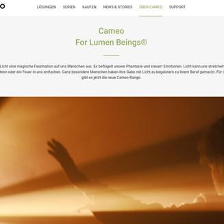 Cameo Brand Website 1