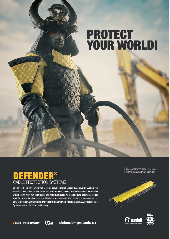 Defender (Kabelbrücken) - Protect your world