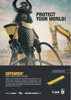 Defender (Kabelbrücken) - Protect your world