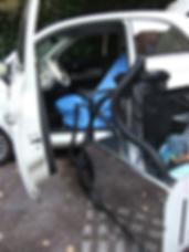 Nettoyage de siège et banquette en tissus de voiture à Marseille et Aix-en-Provence, lavage et presing des sièges de voiture à Hyères, Toulon et dans le Var, pressing siège de voiture à Marignane et Marseille