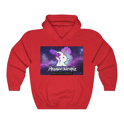Drunken Unicornz Galaxy Heavy Blend™ Hooded Sweatshirt