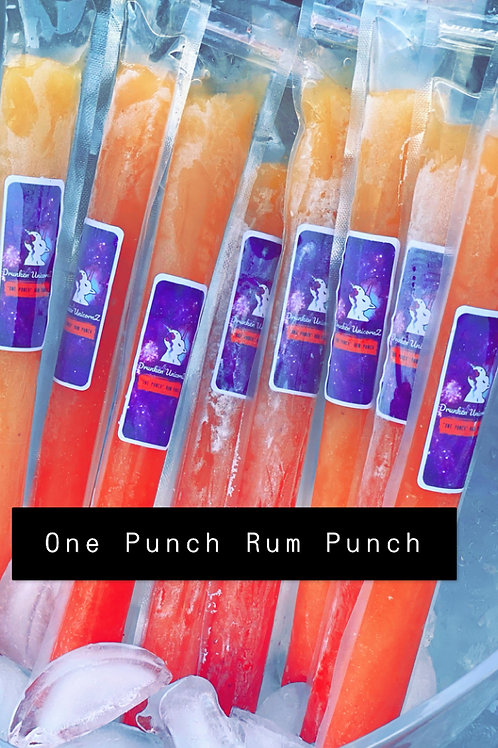 One Punch 🥊Rum Punch