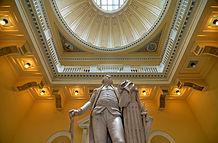 VA State Capitol lobby