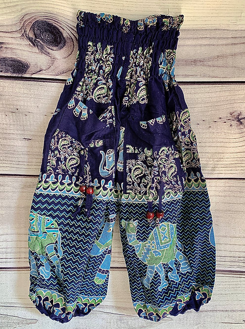 Tots Cotton Genie Trousers (Animal Patterned)