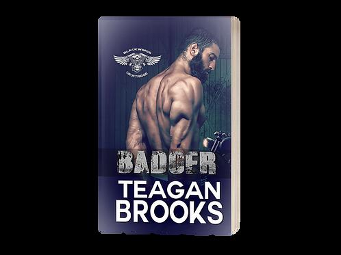 Badger Paperback - Signed