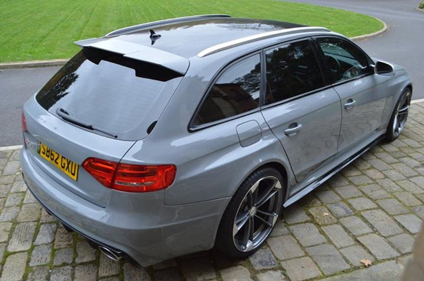 Audi Rs4 Full Body Kit For Audi A4 B8 Avant Estate Fited And Painted Carproject