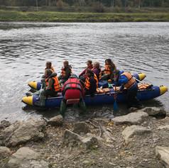 Rafting on the Sylva River