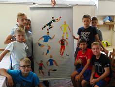 Boys football team from Perm 2018