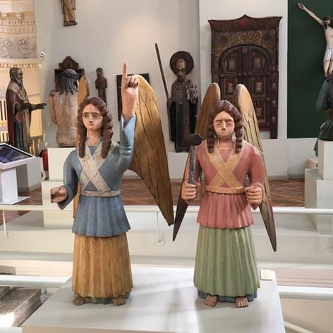 Wooden angels, Perm City Art Gallery