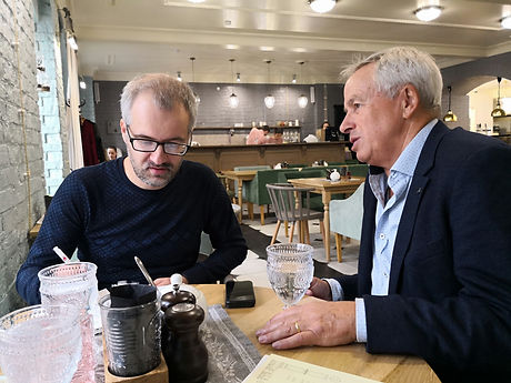 2018.9.21 Marcus Ferrar with Vadim Skovo